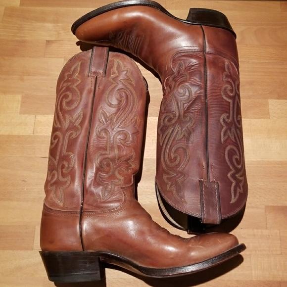 d687ca8ecec5c Justin Boots Shoes - Justin Buck Bay Apache Cowboy boots
